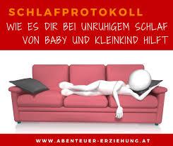 schlafprotokoll baby wie es dir bei unruhigem schlaf