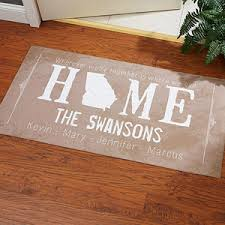 Personalized door mats plus cute doormats plus initial doormat