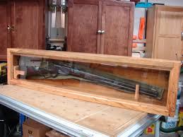 Rustic Heirloom Gun Display Case