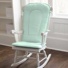 Carousel Designs Solid Mint Rocking Chair Pad