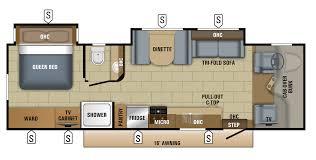 C Floor Plans by 2018 Greyhawk Class C Motorhome Floorplans Prices Jayco Inc