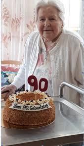 90 geburtstag frau anni zisler seniorenzentrum am schlossberg