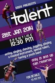 Talent Show Flyer Templates