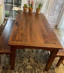 esszimmer tisch mit sitzbänken dänisches bettenlager