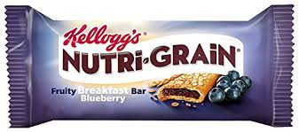 Kelloggs Nutri Grain Cereal Bar Blueberry 37 G Pack Of