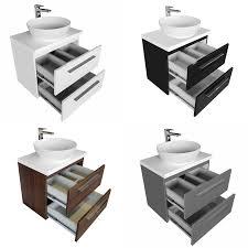 waschtischunterschrank mit waschtischplatte und