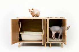 modern cat modernist cat mid century modern feline furniture hauspanther