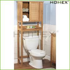 bambus über die wc regal bad schrank w tür homex bsci fabrik buy bambus schrank bad schrank bad eitelkeit product on alibaba