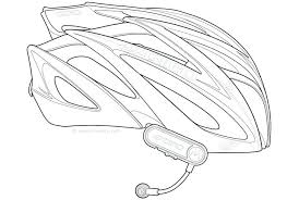 Full Image For Explore Bicycle Helmet Line Art And More Dirt Bike Coloring Pages Printable