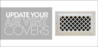 Decorative Air Return Grille by Ideas For Updating Your Air Vent Covers Aire Serv
