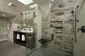 dc metro damask tile bathroom industrial with rubbed bronze
