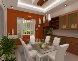 Dining Area With Cabinets