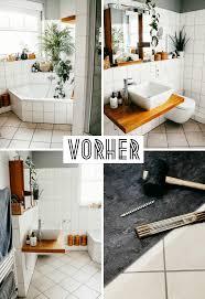 badezimmer fußboden makeover wie wir klick vinyl über