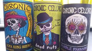 Sofa King Bueno Wine by Chronic Cellars Wines Becky Sue Epstein