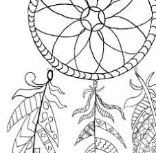 Free Printable Dream Catcher Coloring Page