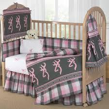 Pink Crib Bedding by Buckmark Bedding Buckmark Plaid Pink U0026 Gray Crib Bedding Camo Trading