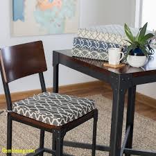 Dining Room Chair Cushions Elegant Plaid Kitchen Black Seat Round