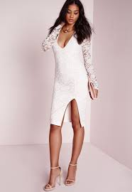 lavish in lace in this romantic style midi dress this party season