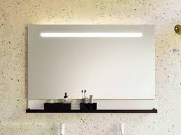 burgbad fiumo spiegel mit wandablage und led beleuchtung