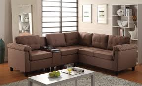 Chocolate Corduroy Sectional Sofa by Reversible Sectional Sofas Tags 31 Stunning Reversible Sectional