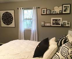 Master Bedroom Decor DIY Black And White Farmhouse Style