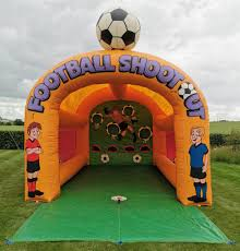 Football Shootout Hire From GFC Leisure | Essex & Hertfordshire Best Promo Bb45e Inflatable Football Bean Bag Chair Chelsea Details About Comfort Research Big Joe Shop Bestway Up In And Over Soccer Ball Online In Riyadh Jeddah And All Ksa 75010 4112mx66cm Beanless 45x44x26 Air Sofa For Single Giant Advertising Buy Sofainflatable Sofagiant Product On Factory Cheap Style Sale Sofafootball Chairfootball Pvc For Kids