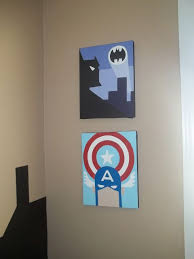 26 best superhero art images on pinterest superhero room art