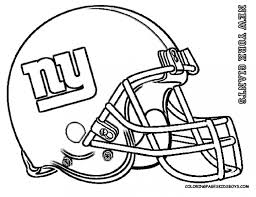 New York Giants Football Coloring Pages