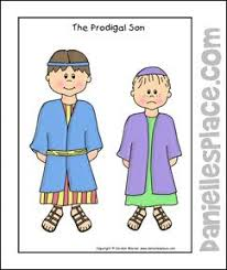 The Prodigal Son Coloring Sheet From Daniellesplace