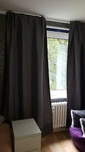 ikea gardinen in grau