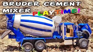100 Bruder Cement Truck Garbage Videos For Children Mixer Pours