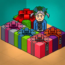 Im So Very Happy And Feeling Pleasure For These Gifts That Ive Received In Habbo Hotel Guys To Be Honest All Of My Friends Who Gave Me