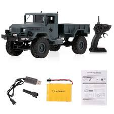 100 Used Rc Cars And Trucks For Sale Buy Fayee FY001A 116 24GHz 4WD 3000G Load Military Truck Offroad