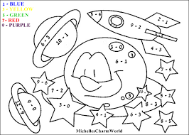 Printable 16 Subtraction Coloring Pages 971 Free