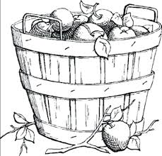 Coloring Pages Apple Pie Preschool Apples Harvest Ever After High White Large Size