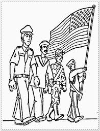 Download Coloring Pages Veteran Day Veterans For