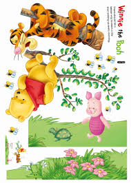 Wall Decal Winnie The Pooh by Popular Cartoon Winnie The Pooh Home Decor Baby Kids Room