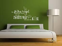 grazdesign wandtattoo deko schlafzimmer ideen wandsticker