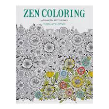 Zen Coloring Floral Collection Book