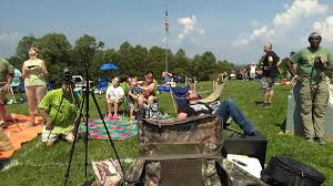 Eclipse delivers at Bald Knob Cross Eclipse