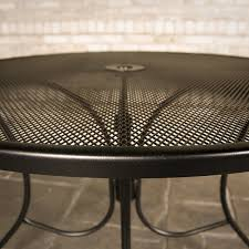 Meadowcraft Patio Furniture Dealers by Ava Wrought Iron Dining Patio Furniture By Meadowcraft