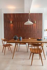 Wood Paneling In Designer Loft Berlin Mid Century Modern Furniture Pottery Collection