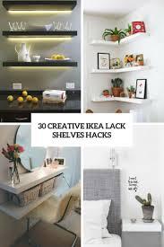 30 creative ikea lack shelves hacks wohnidee by woonio in