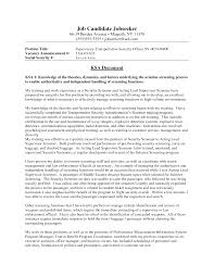 Resume Objective For Supervisor Position