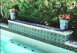 pool photos from accents tiles mediterranean pool san