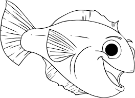 Fish Coloring Pages Free Printable For Kids