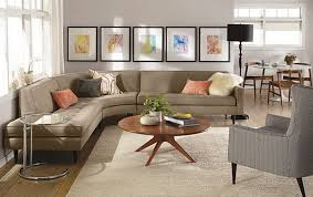 Small Living Room With Sectional Ideas Home Worthy Brown