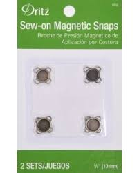 new year s special dritz sew on magnetic snap