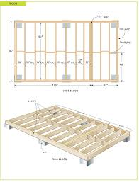 Cheap Shed Floor Ideas by How To Build A Shed Floor My Dream Homestead Pinterest