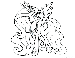 My Little Pony Coloring Pages Rainbow Dash And Rarity